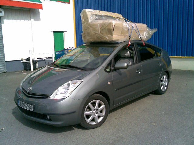 Roulez charg s forum prius touring club for Canape voiture