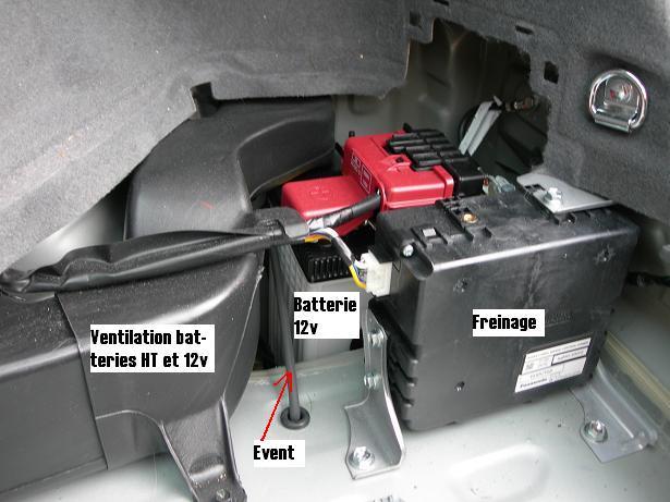 entretien et charge de la batterie auxiliaire 12 v. Black Bedroom Furniture Sets. Home Design Ideas